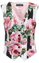 Dolce & Gabbana Silk-blend vest