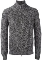 Brunello Cucinelli cashmere zipped cardigan - men - Cashmere - 48