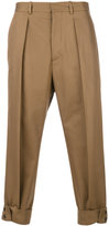 Marni cuffed chino trousers - men - Cotton - 50