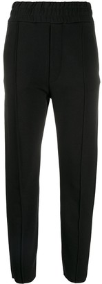 Thom Krom Pleat Detail Slim-Fit Cropped Trousers