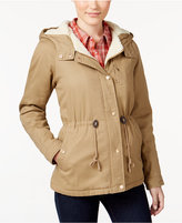 Collection B Juniors' Hooded Anorak, Only at Macy's