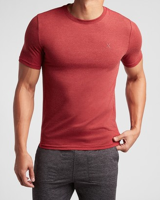 Express Sold Slim Stretch Crew Neck T-Shirt