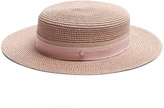 Maison Michel Rod hemp-straw hat