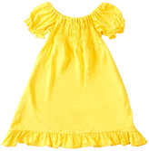 Kickee Pants Solid Short Sleeve Gathered Dress (Baby & Toddler Girls)