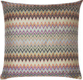 Missoni Home Masuleh Cushion Cover with Feather-Filled Pad