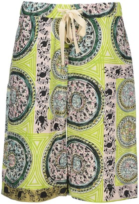 J.W.Anderson Mystic Paisley Embellished Shorts