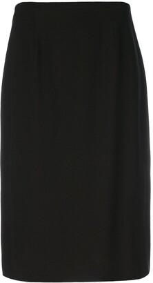 Jean Louis Scherrer Pre-Owned Straight Fit Skirt