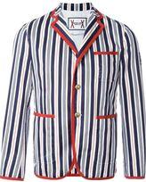 Moncler Gamme Bleu striped blazer - men - Cotton/Polyester - 2