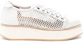 Flamingos Tatum Sneaker in White. - size 36 (also in 40)