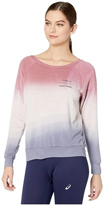 good hYOUman Chelsea Family/Everything Pullover (Rose Dust/Polar Blue Ombre) Women's Clothing