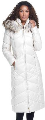 Gallery Women's Quilted Long Heavyweight Coat