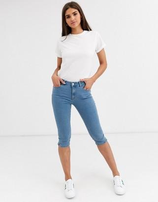 Vero Moda denim capri jeans