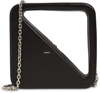 Coperni App Leather Top Handle Bag