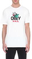 Obey D.O.A. cotton-jersey t-shirt