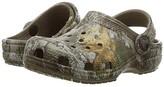 Crocs Classic RealTree Edge Clog (Toddler/Little Kid) (Walnut) Kids Shoes