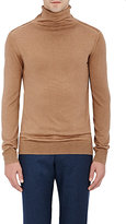 Boglioli Men's Turtleneck Sweater-TAN