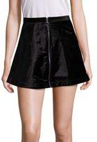 Free People Funkytown A-Line Mini Skirt
