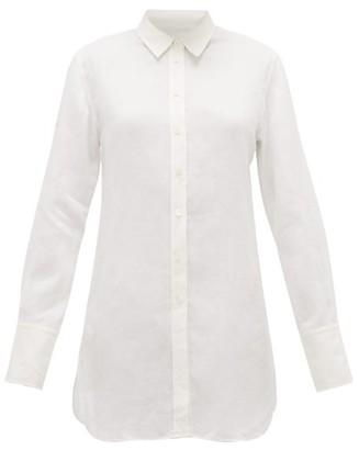 Joseph Bora Ramie-voile Longline Shirt - Ivory