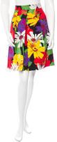 See by Chloe Floral Print Knee-Length Skirt