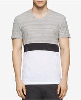 Calvin Klein Men's Slim-Fit Colorblocked Space-Dyed T-Shirt