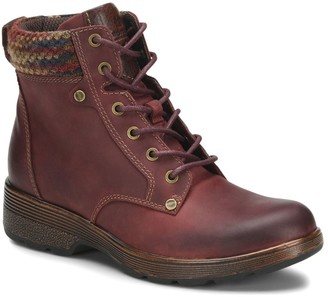 Bionica All-Weather Lace-Up Leather Hiker Boots- Everson