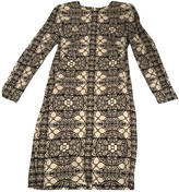 Alexander McQueen White Wool Dress for Women