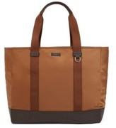 HUGO BOSS - Color Blocked Tote Bag In Italian Nylon - Khaki