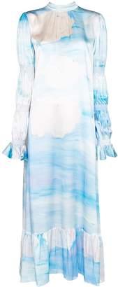 Helmstedt Sky Print Maxi Dress