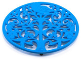 ODI HOUSEWARES Blue Aster Tree of Life Trivet