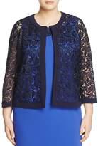 Marina Rinaldi Fantasia Macramé Lace Jacket