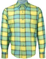 Facetasm longsleeve plaid shirt - men - Nylon/Wool - 3