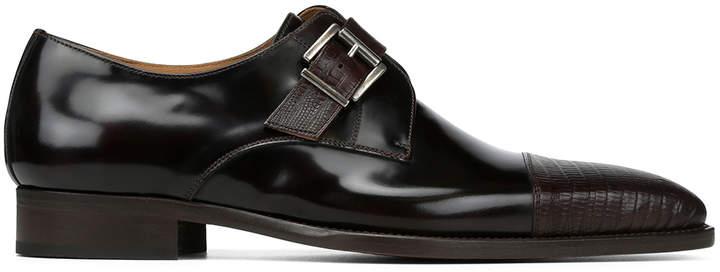 Donald J Pliner CALENTE, Calf Leather Monk Strap Loafer