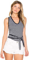 Nation Ltd. Sophie Tied Halter Top in Navy. - size L (also in M,S,XS)