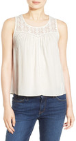 Hinge Sleeveless Lace Top
