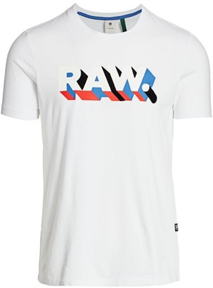G Star 3D Raw Graphic T-Shirt