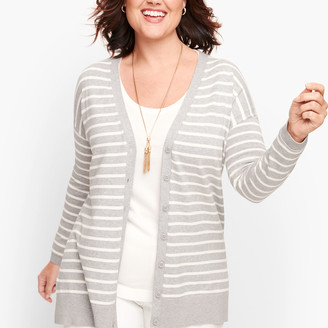Talbots Forever Girlfriend Cardigan - Stripe
