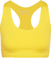 Monreal London Essential Stretch-jersey Sports Bra - Yellow