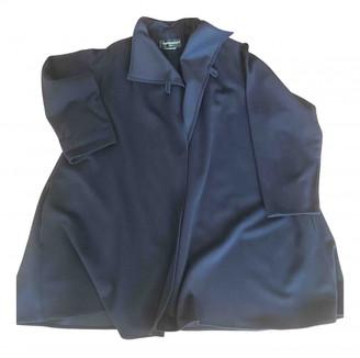 Ramosport Blue Wool Coats