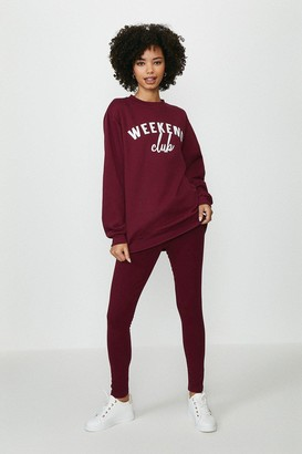 Coast Weekend Club Sweater And Legging Set