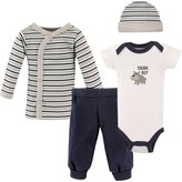 Luvable Friends Preemie Baby Boy Layette Gift Set, 4pc