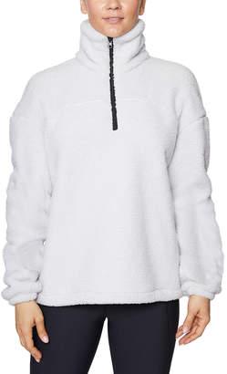 Betsey Johnson Funnel-Neck Pullover Sweatshirt