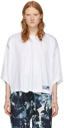 Martine Rose White Football Top