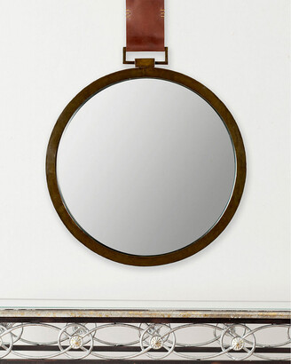 Safavieh Pendant Mirror With Leather Strap