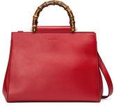 Gucci Nymphea Medium Bamboo-Handle Tote Bag