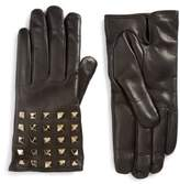 Valentino Garavani Women's Rockstud Leather Gloves