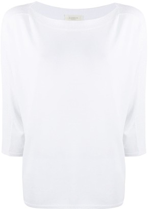 Zanone Cropped Sleeves Jumper