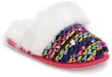 Steve Madden Girl's Jrainbow Faux Fur Lined Slip-On