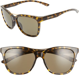 Smith Cavalier 55mm ChromaPop(TM) Cat Eye Sunglasses