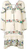 Derek Lam 10 Crosby floral bell sleeved dress - women - Silk - 0