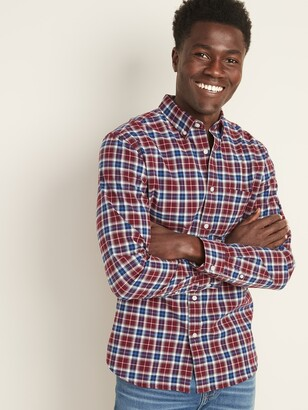 Old Navy Slim-Fit Built-In Flex Everyday Oxford Shirt For Men